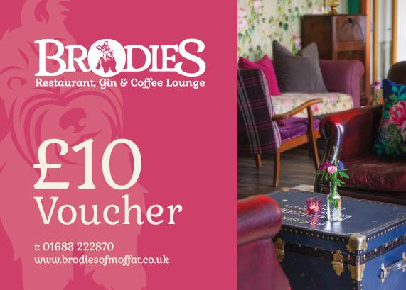 Brodies £10 Voucher