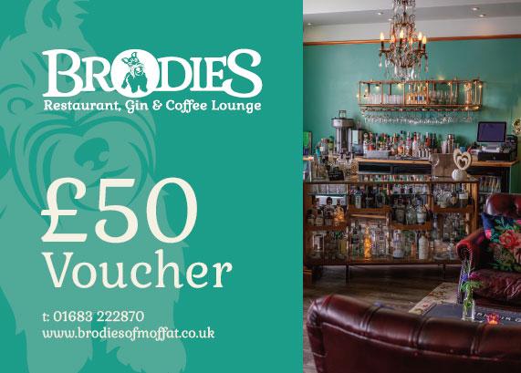 Brodies £50 Voucher